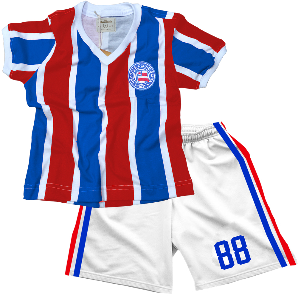 194e8e99b2ee2 Casa do Tricolor - Kit Infantil Retrô 88