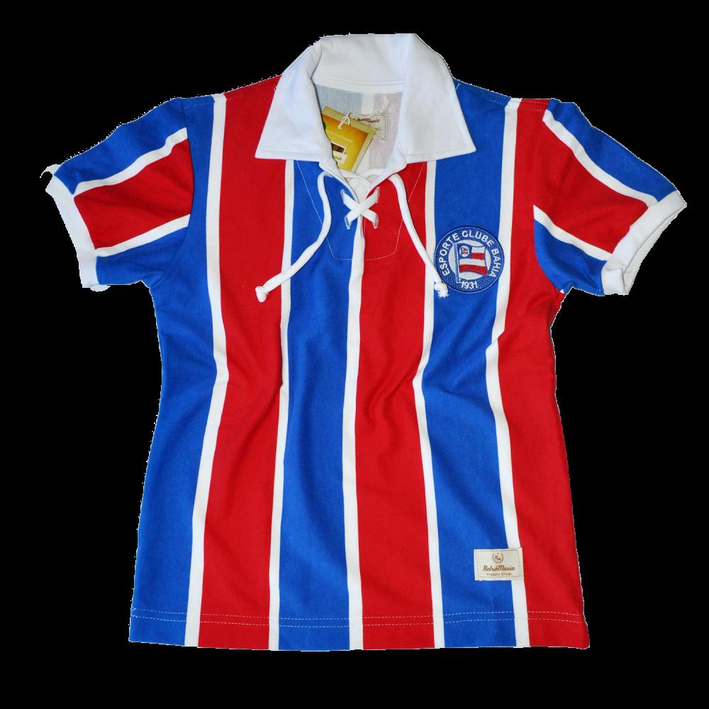 60a97d243ac3f Casa do Tricolor - Camisa Retrô Cordinha Juvenil