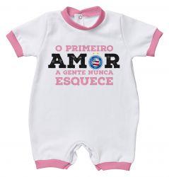 Macacão Torcida Baby Primeiro Amor
