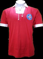 Camisa SPR Pólo Masculina Retrô Cordinha