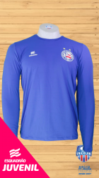 Camisa Esquadrão UV 50 Juvenil Azul