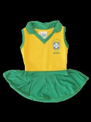 Vestido Torcida Baby Pólo CBF