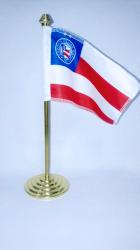 Bandeira ECB de mesa