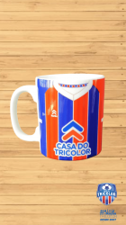 Caneca Porcelana Casa do Tricolor