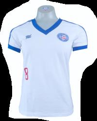 Camisa Esquadrão Retrô Feminina 88 - branca