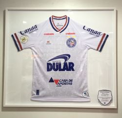 Camisa Esquadrão Museu do Bahia - no quadro